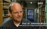 DFG Science TV Scientist Portrait Johannes Müller