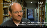 DFG Science TV Wissenschaftler Porträt Johannes Müller